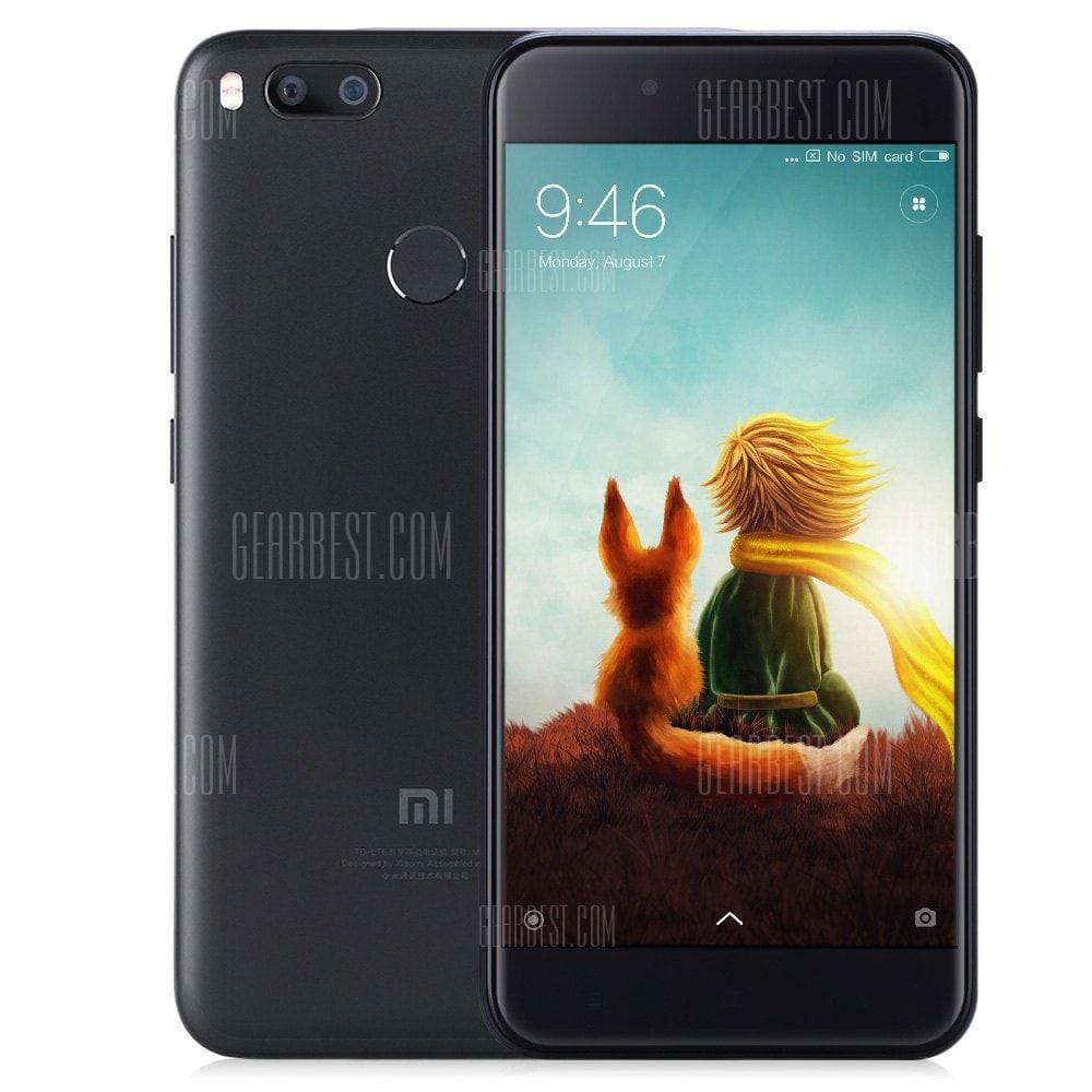 """Original Xiaomi Mi 5X 5,5"""" FHD, SD 625 2.0GHz, 4/64 GB in schwarz ohne Band 20"""