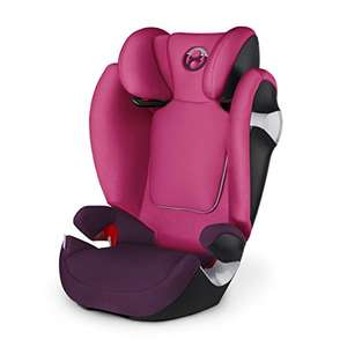 Cybex Gold Solution M, Kindersitz Gruppe 2/3 (15-36 kg), Kollektion 2017, mystic pink, ohne Isofix [Amazon Prime]