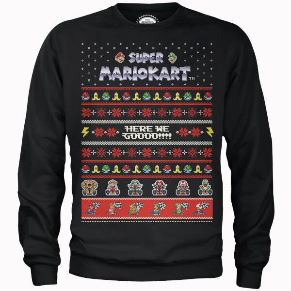 Nächsten Monat ist Weihnachten: Nintendo Sweatshirt + T-Shirt für 28,49€ (Zelda, Supermario, Donkey Kong, Bowser, ...)