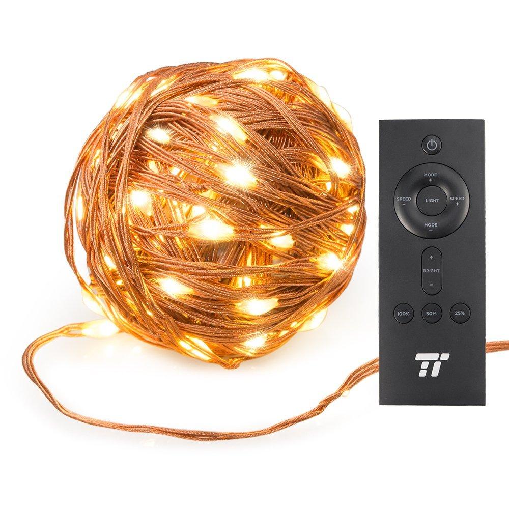 200 LED-Lichterkette in warmweiß (20m) von TaoTronics für 11,99€ für PRIME Mitglieder