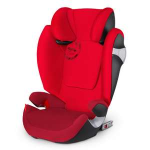 Cybex GOLD Kindersitz Solution M-fix Mars Red-red