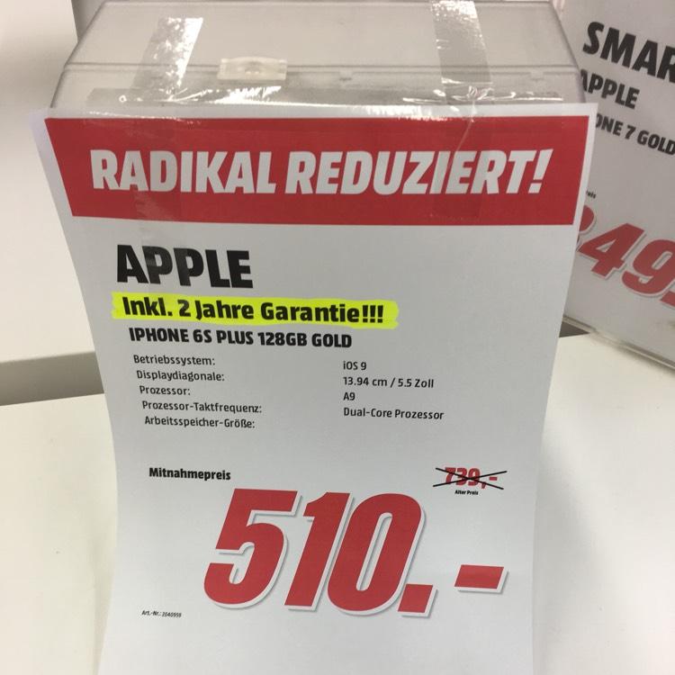 Lokal Berlin Apple iPhone 6S Plus 128GB Gold