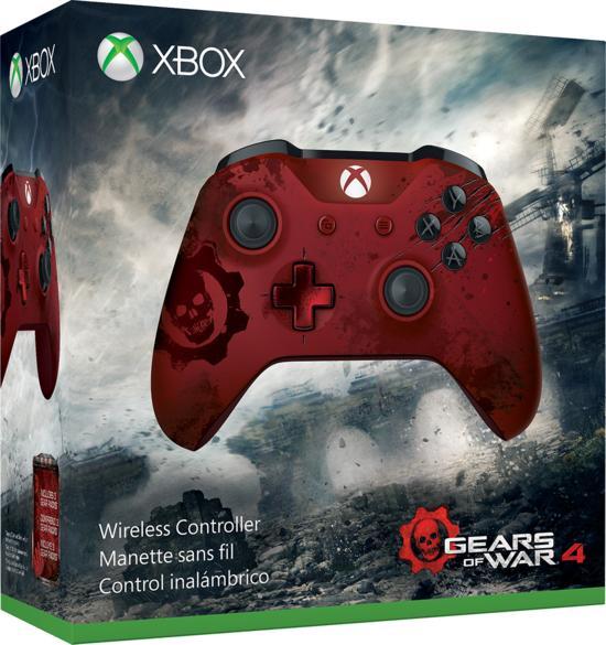 Xbox Wireless Controller Gears of War 4 Crimson für 44,99€