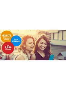 [Sparmobil.net] Vodafone Young L | 6GB | SMS & Tel. All NET | VODAFONE NETZ Sim Only mtl. 9.99€