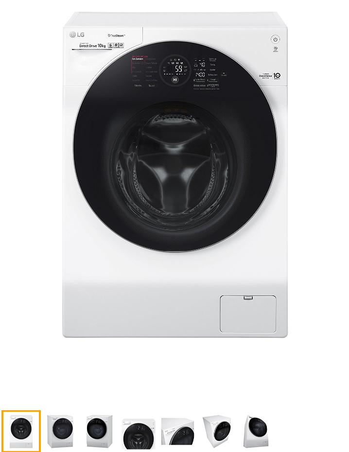 LG F14WM10GT Waschmaschine (10Kg/1400U/min)