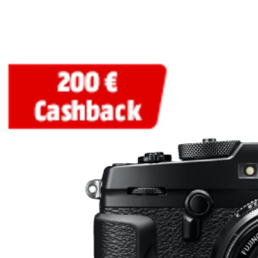 (Mediamarkt) Fujifilm Cashback Aktion bis zu 200€ Cashback