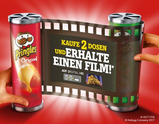 Pringles Gutscheinfehler: 4 Kauffilme kostenlos bei Google Play
