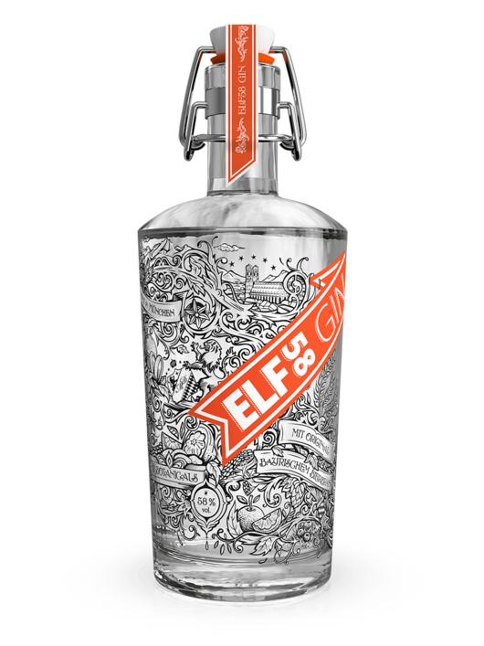 ELF58 Munich Dry Gin 0,5 l für 23,85€ @ munichdistillers.de