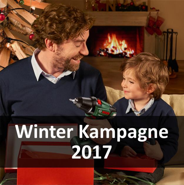 Bosch Cashback für grüne Elektrowerkzeuge und Messgeräte (Winter Kampagne 2017)