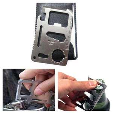 IPRee Taktisch Mini Multifunktional Werkzeug Card Messer