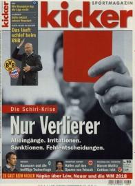 Kicker Miniabo (34 Ausgaben) für 55,25 € mit 50€ Amazon-Gutschein/ Verrechnungsscheck