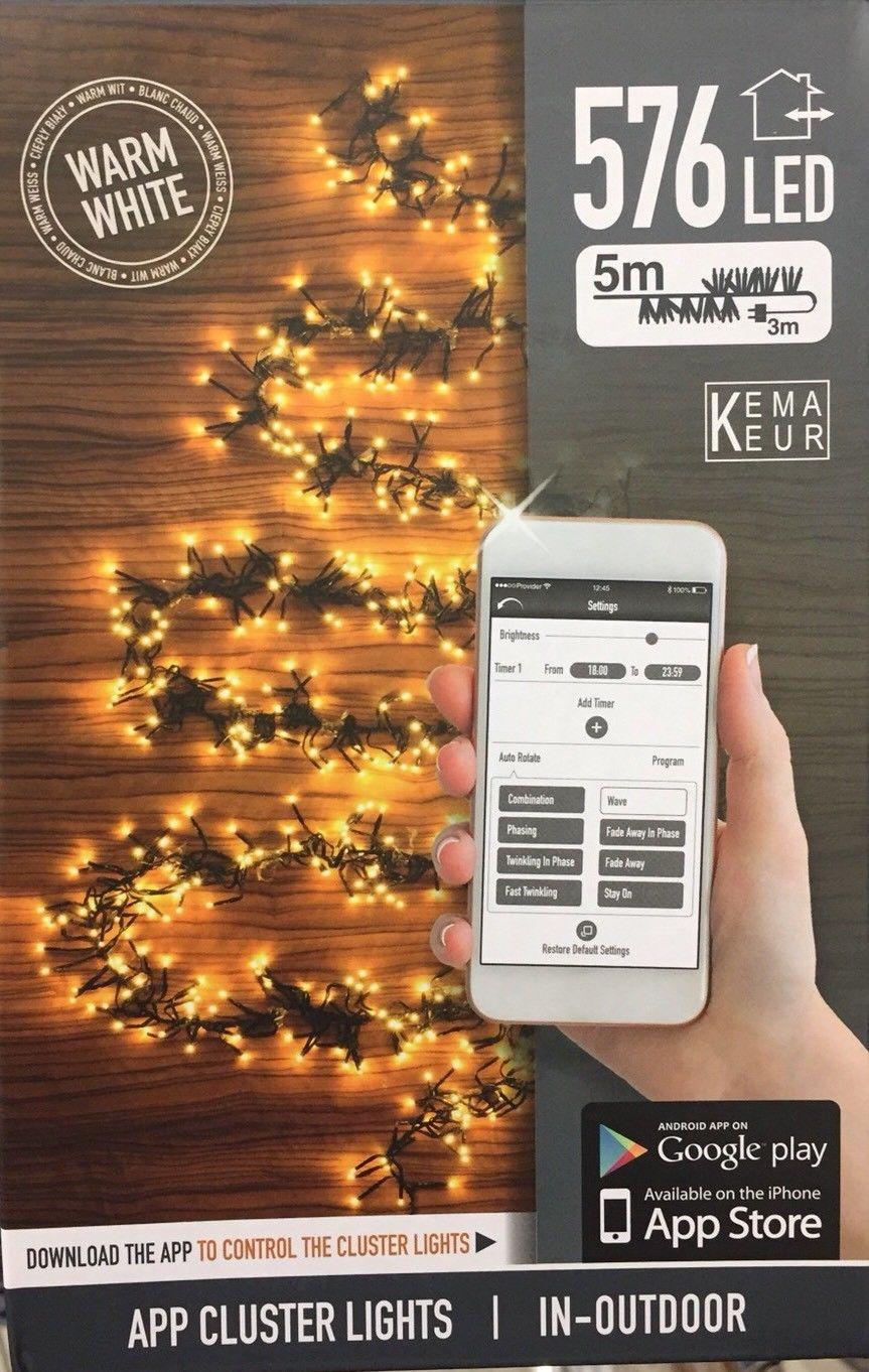 [Action] 576 LED Lichterkette 5m, dimmbar, App-Steuerung, Timer usw. für 19,95€
