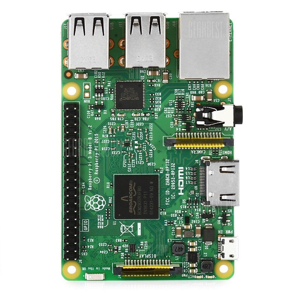 [Gearbest] Raspberry Pi 3 für 25,76€