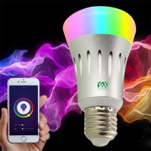 Ywxlight E27 Wi-Fi Multicolored Led Bulbs Dimmable Smartphone Controlled