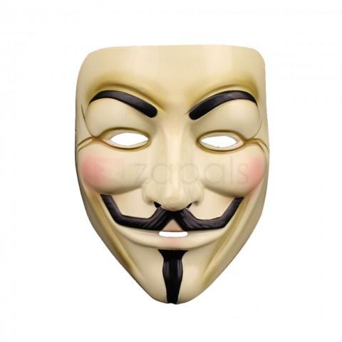 Guy Fawkes Maske für 18 Cent (Zapals)