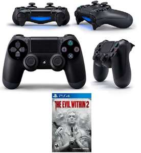 PS4 Wireless Dualshock 4 Controller (Neue Version) + The Evil Within 2 für 79,-€ [Mediamarkt GDD]