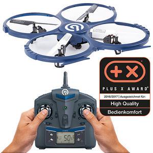 NINETEC Spaceship9 HD Video Kamera RC Drohne Quadrocopter Ufo 2.0 MP 1280x720
