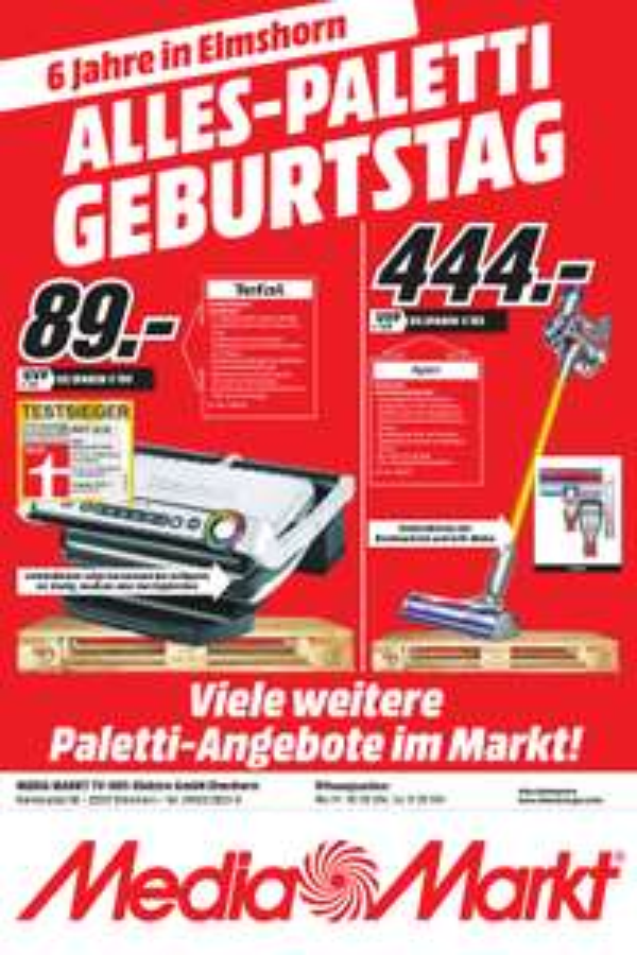 TEFAL GC 702D Optigrill bei Mediamarkt Elmshorn für 89 Euro