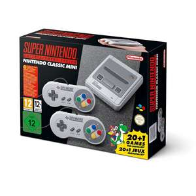 Nintendo Classic Mini: Super Nintendo SNES Mini (Amazon.fr)