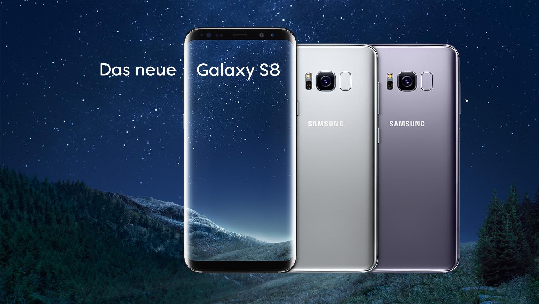 Samsung Galaxy S8 64GB im D1-Netz (Congstar) inkl. 2GB Allnet-Flat für 20€/Monat - 129€ Zuzahlung