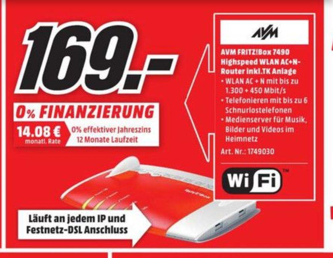 (Lokal) AVM FRITZ!Box 7490 für 169€ @ Mediamarkt Bonn & Bornheim