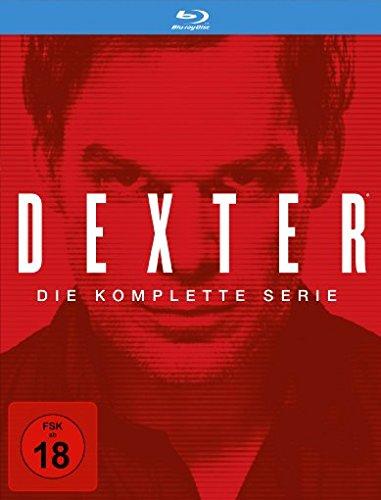 Dexter - die komplette Serie auf Blu-ray (34 Discs)