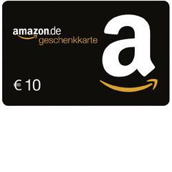 10-Euro AMAZON.DE Gutschein als Shell Clubsmart-Prämie