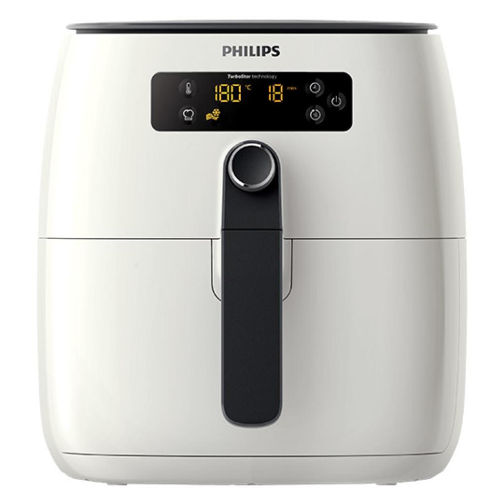 """Philips™ - Heißluftfritteuse """"Airfryer Avance TurboStar HD9640/00"""" für €142.- [@Real.de]"""