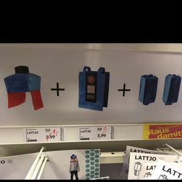[Lokal] Ikea Großburgwedel Lattjo Kostüme je Teil 1€ statt ab 5,99€
