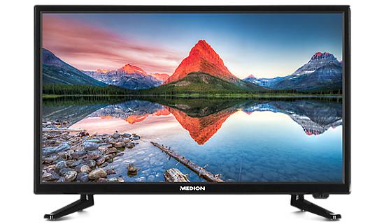 """Medion LIFE P12310 - 21,5"""" FullHD TV mit DVB-T2 Tuner (auch DVB-S2) und DVD-Player"""