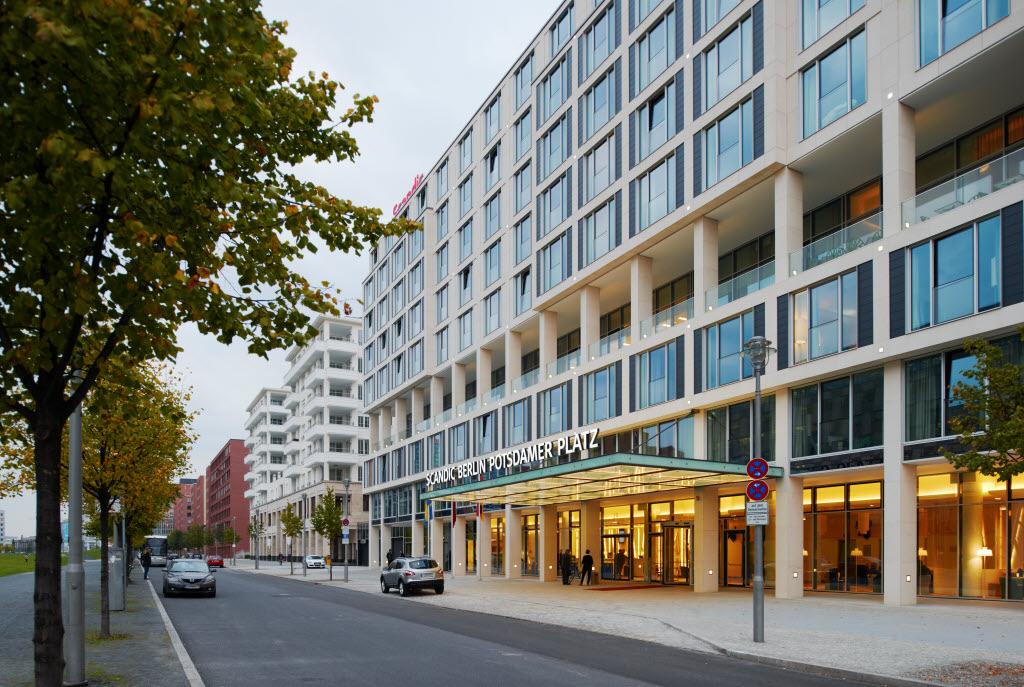 Nur heute: 40% auf Scandic Hotel Berlin Potsdamer Platz