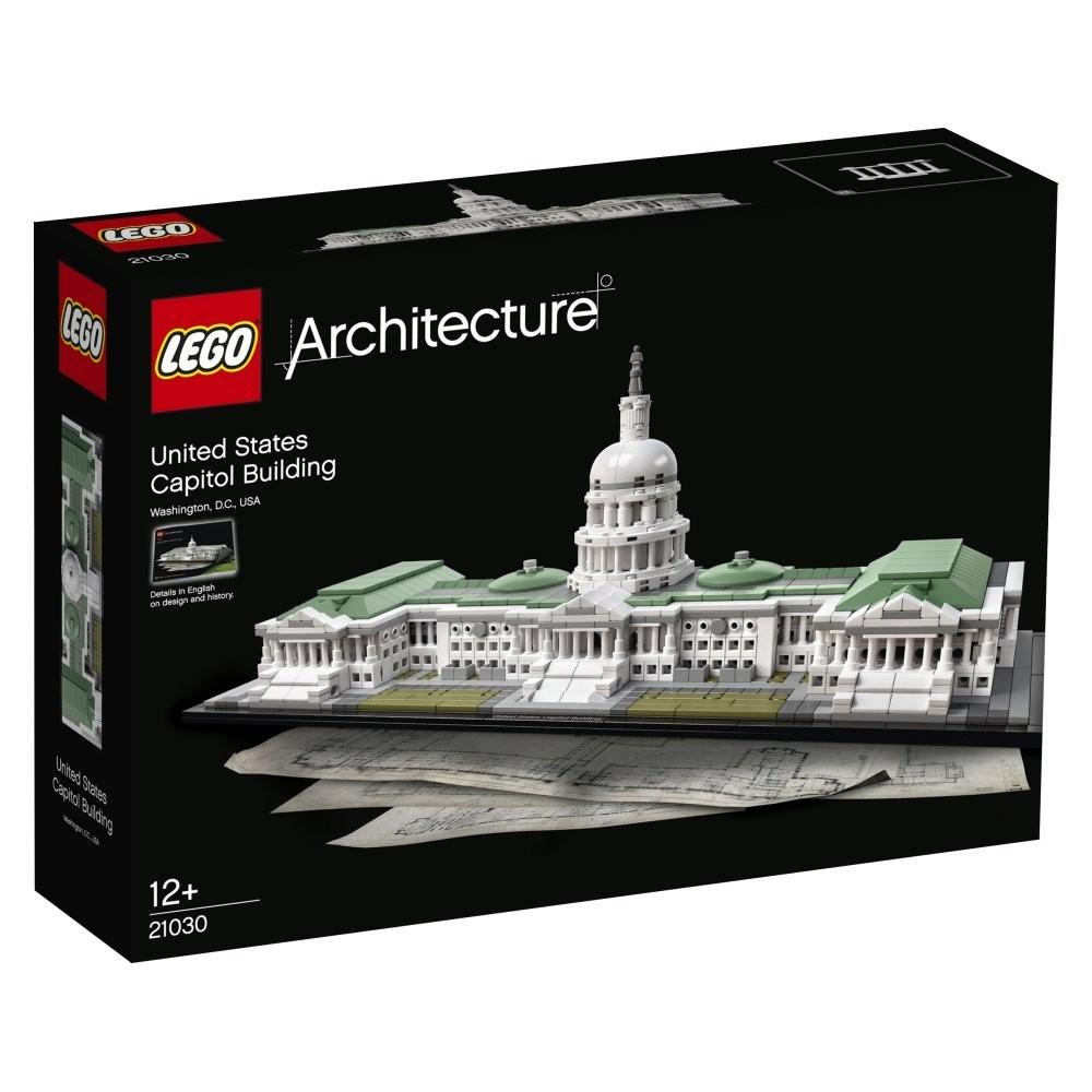 [Rakuten] Lego Architecture Kapitol 21030