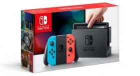 Nintendo Switch Neon-Rot / Neon-Blau für 294,94€ inkl. Versand [Rakuten]
