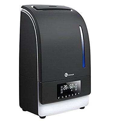 BLITZANGEBOT Luftbefeuchter TaoTronics Ultraschall 130W 6L Befeuchter bis zu 40-60㎡