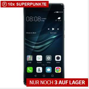 "[Rakuten] Huawei P9 Plus Quartz Grey 5,5"" 64GB Smartphone für 323 € + (38/57 € in Superpunkten)"