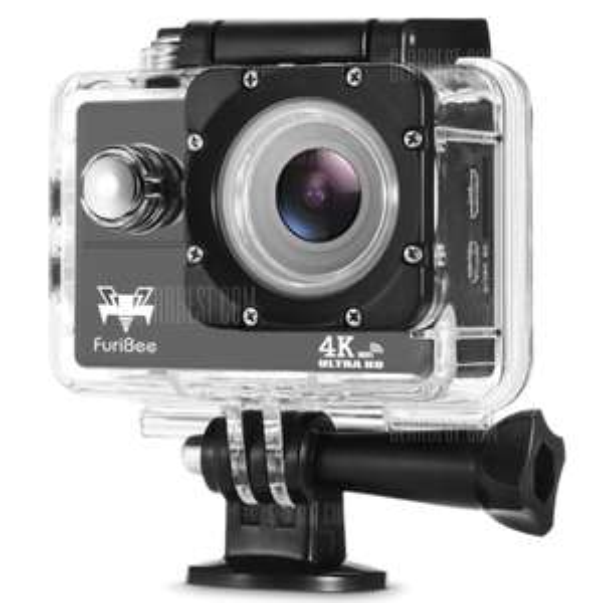 FuriBee 4k WiFi Action Kamera [Gearbest] 16MP mit Wasserdichtem Case (inkl. Versand)