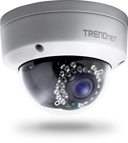[Amazon] TRENDnet Indoor/Outdoor 1.3 Megapixel HD PoE IR Dome Netzwerk Kamera, Digital WDR, 720p, IP66 zertifiziertes Gehäuse, 25 Meter Nachtsicht, ONVIF, IPv6, TV-IP321PI