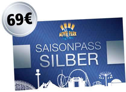 Movie Park Germany Saisonkarte Silber Pass (und mehr)