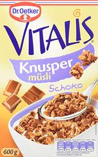 Vitalis Knusper Müsli Schoko 2,39€ pro Packung
