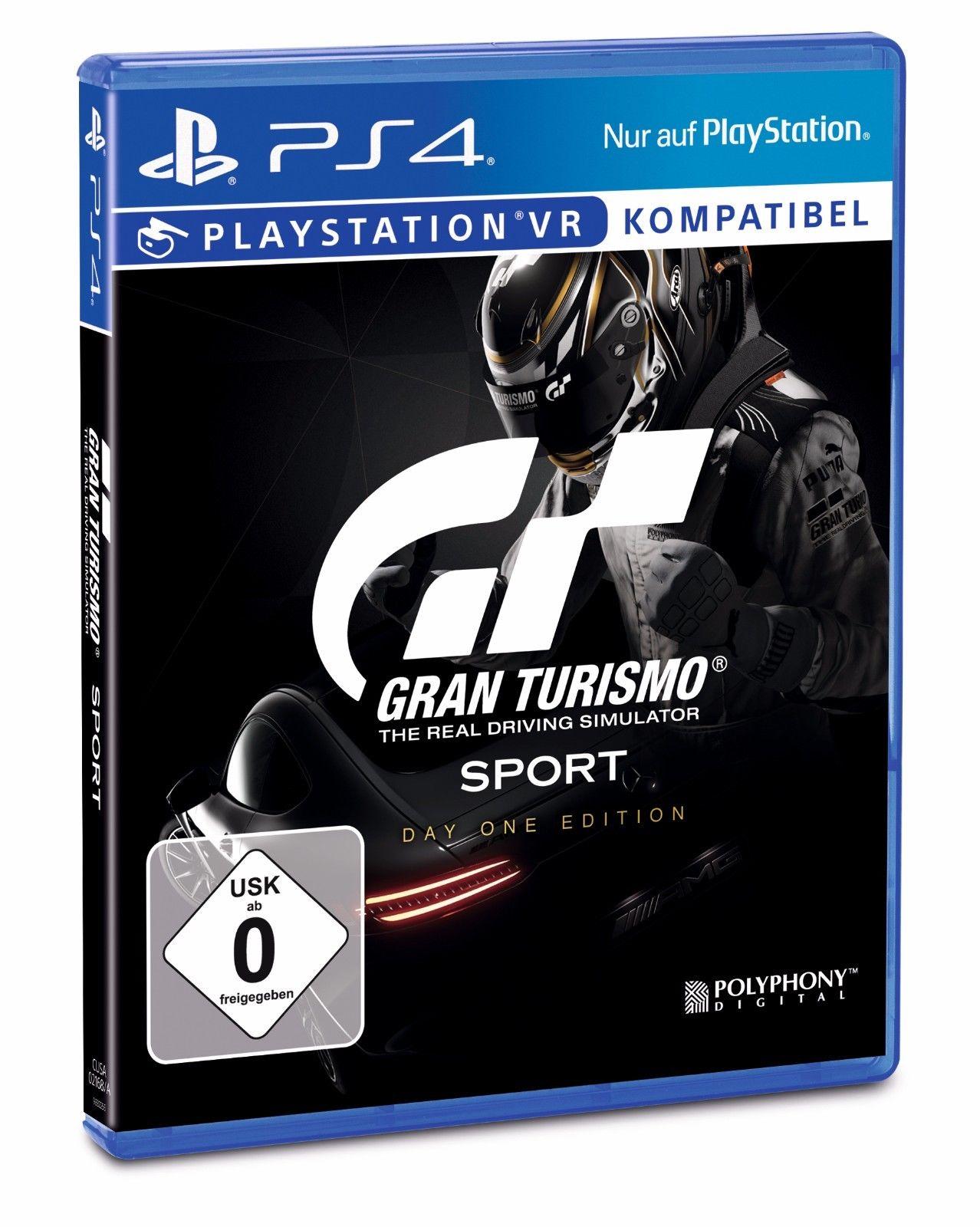 Gran Turismo Sport Day One Edition PS4 für 34,99€