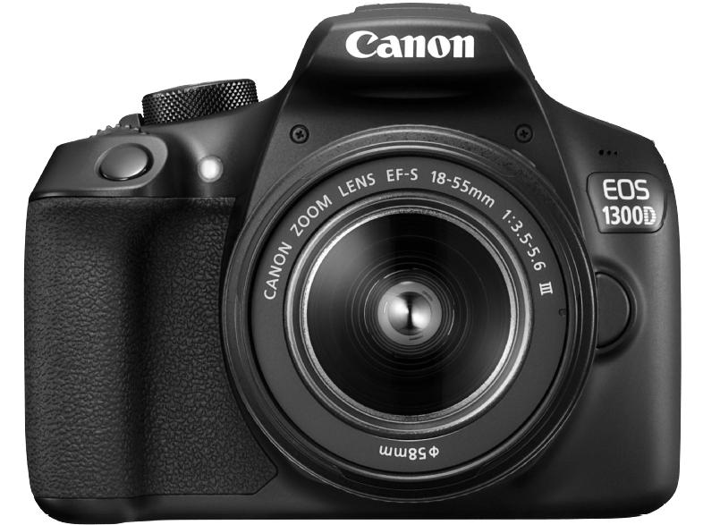 CANON EOS 1300 D mit Zoomobjektiv 18-55 mm
