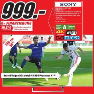 [Media Markt Bad Kreuznach] SONY KD-55XE8577 LED TV (55 Zoll, UHD, 4K HDR, Android TV)