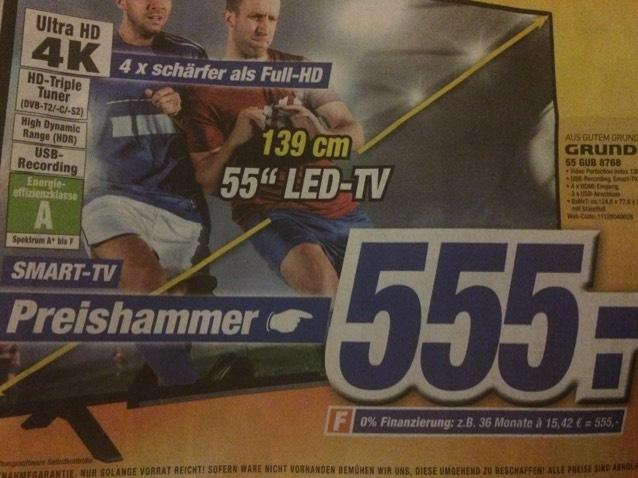 [Lokal] Expert Bonn; Grundig Fernseher 55 GUB 8768