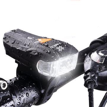 600 Lumen Fahrradlampe, USB aufladbar, Frontlicht, wasserfest