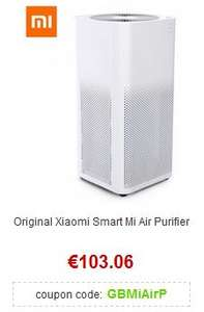 Original Xiaomi Smart Mi Air Purifier Luftreiniger für 94,47€ [Gearbest]