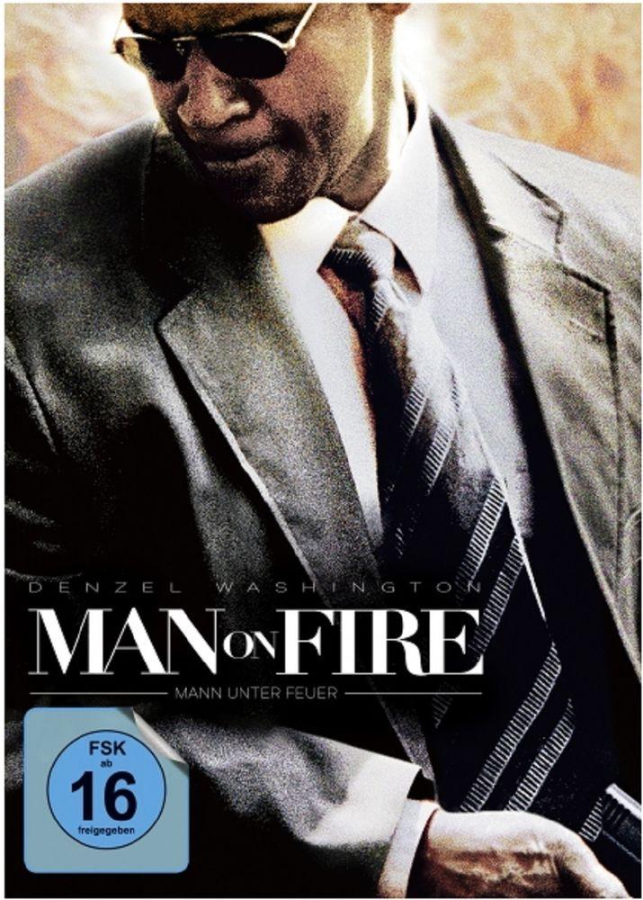 Man on Fire - Mann unter Feuer Mediabook Blu-ray+DVD - Cover A für nur 14,99€ bei [eBay= alphamovies]