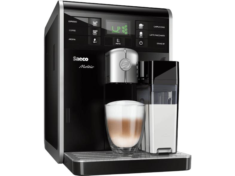 [Saturn/Amazon] SAECO HD8769/01 Moltio Kaffeevollautomat (1.9 Liter Wassertank, 15 bar, Keramikmahlwerk) für 344€ inkl. Versand statt 539 €