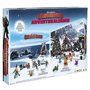Spin Master 6036479 - DreamWorks Dragons - Adventskalender für 13,99€ ( Prime Deals )