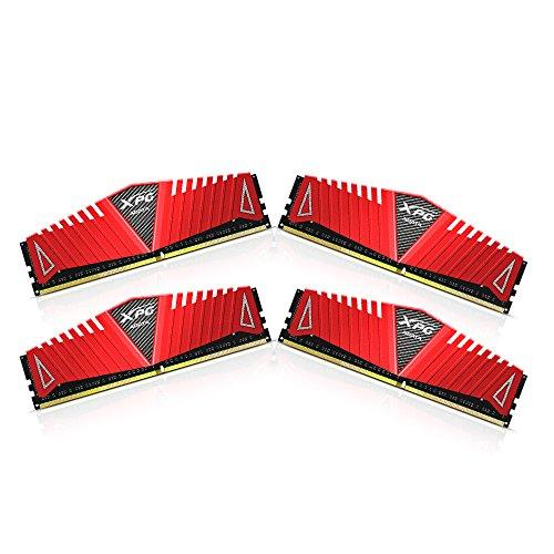 Vorbsteller: ADATA XPG Z1 rot DIMM Kit 16GB ( 4x 4GB ), DDR4-2400 (PC4-19200U), CL16-16-16-39, Intel XMP 2.0 (AX4U2400W4G16-QRZ)