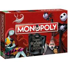 Monopoly Spiele - Winning Moves Skyrim & Nightmare Before Christmas